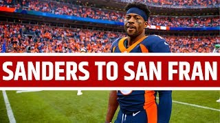 San Francisco 49ers Trade For Emmanuel Sanders Reaction