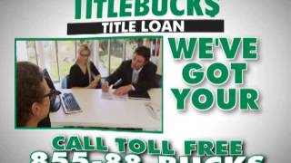 TitleBucks Commercial for Car Title Loans