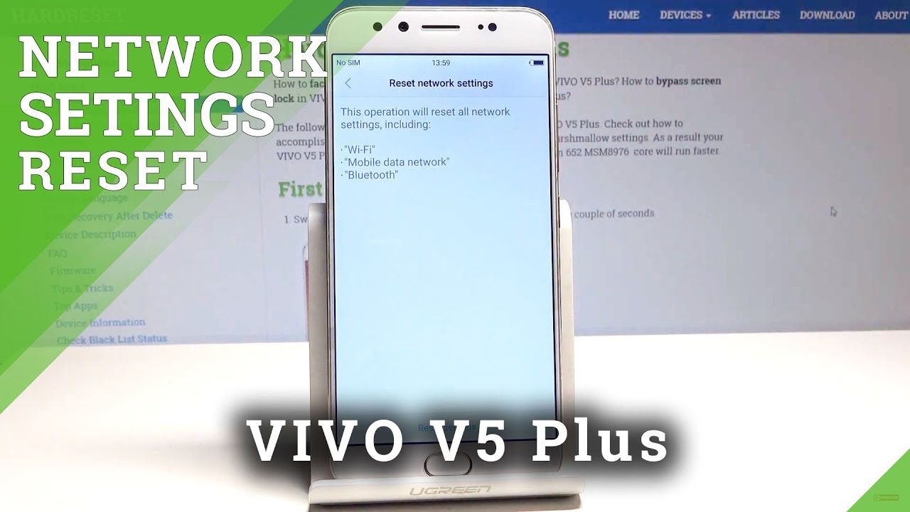 How to Reset Network Settings in VIVO V5 Plus - Fix Network Configuration