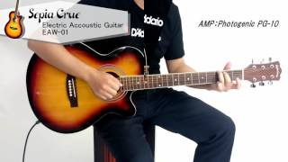 サクラ楽器 Sepia Crue エレアコ EAW-01