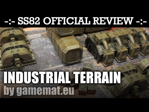 SS82 Official Review *NEW* INDUSTRIAL TERRAIN! by Gamemat.eu | HD