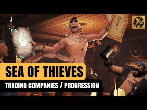 SEA OF THIEVES NEWS - TRADING COMPANIES FIRST LOOK / BECOMING A LEGEND #SeaofThieves