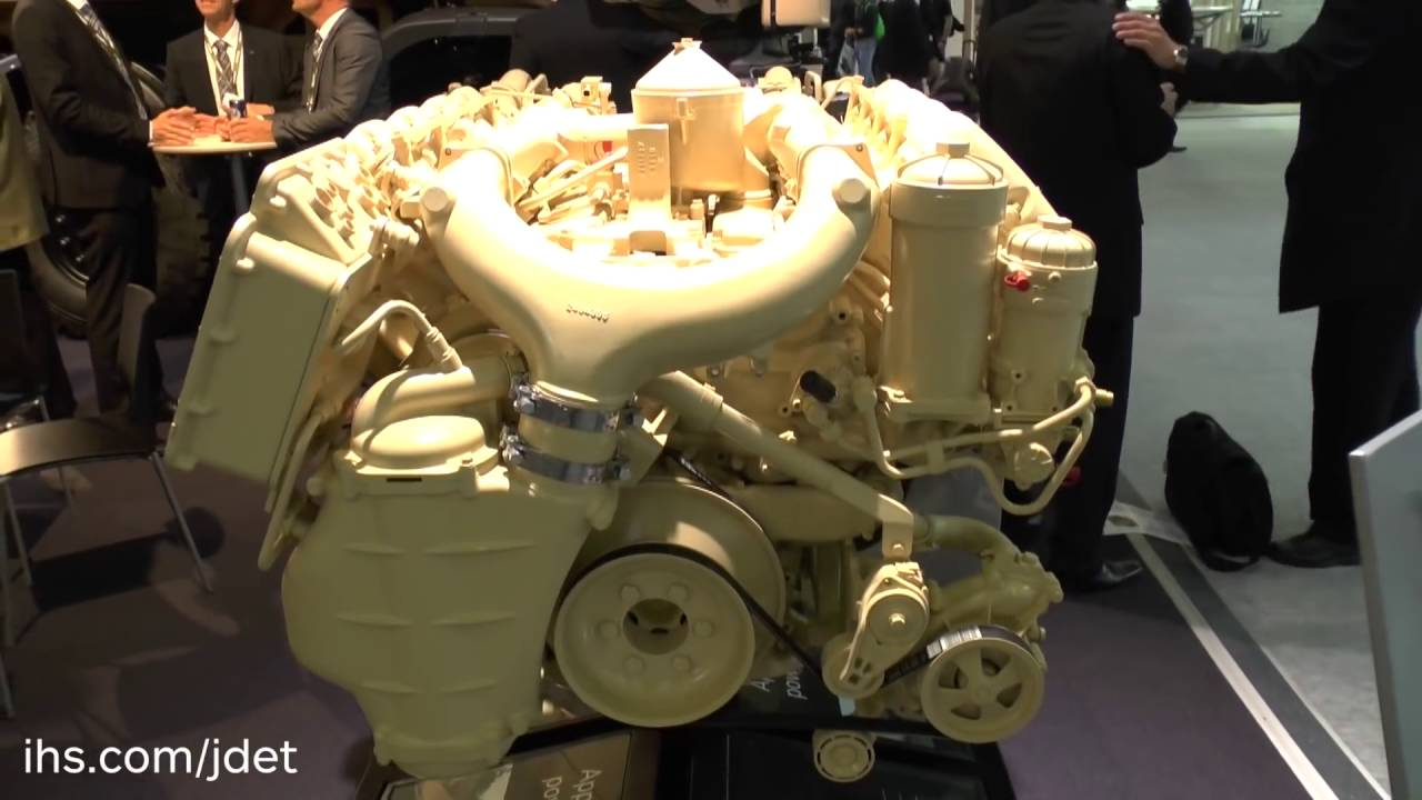 IHS Jane's talks to Scania Engines about their military specific engines