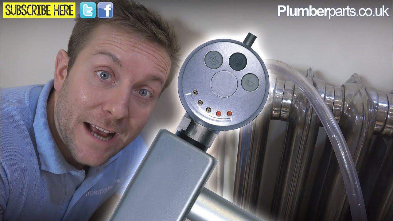 Electric Towel Rail Radiator Element Plumbing Tips Youtube Warmer Wiring Diagram