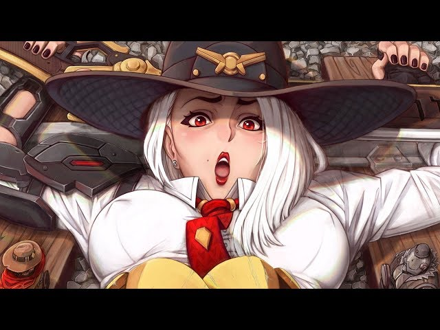ASHE | OVERWATCH THICC SPEEDPAINTING!