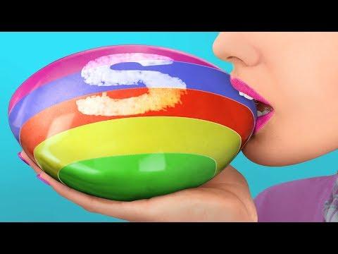 Огромные и миниатюрные сладости для единорога – 6 идей