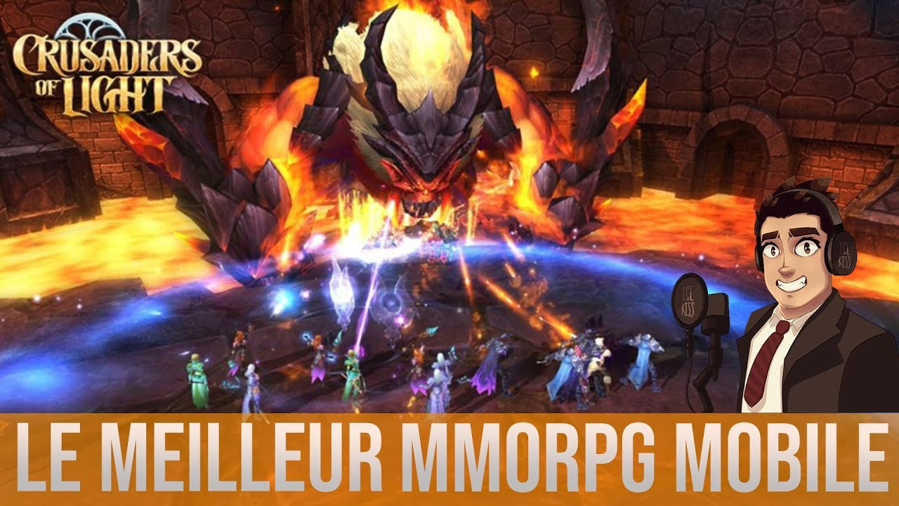 LE MEILLEUR MMORPG MOBILE IOS/ANDROID ? Crusader of light