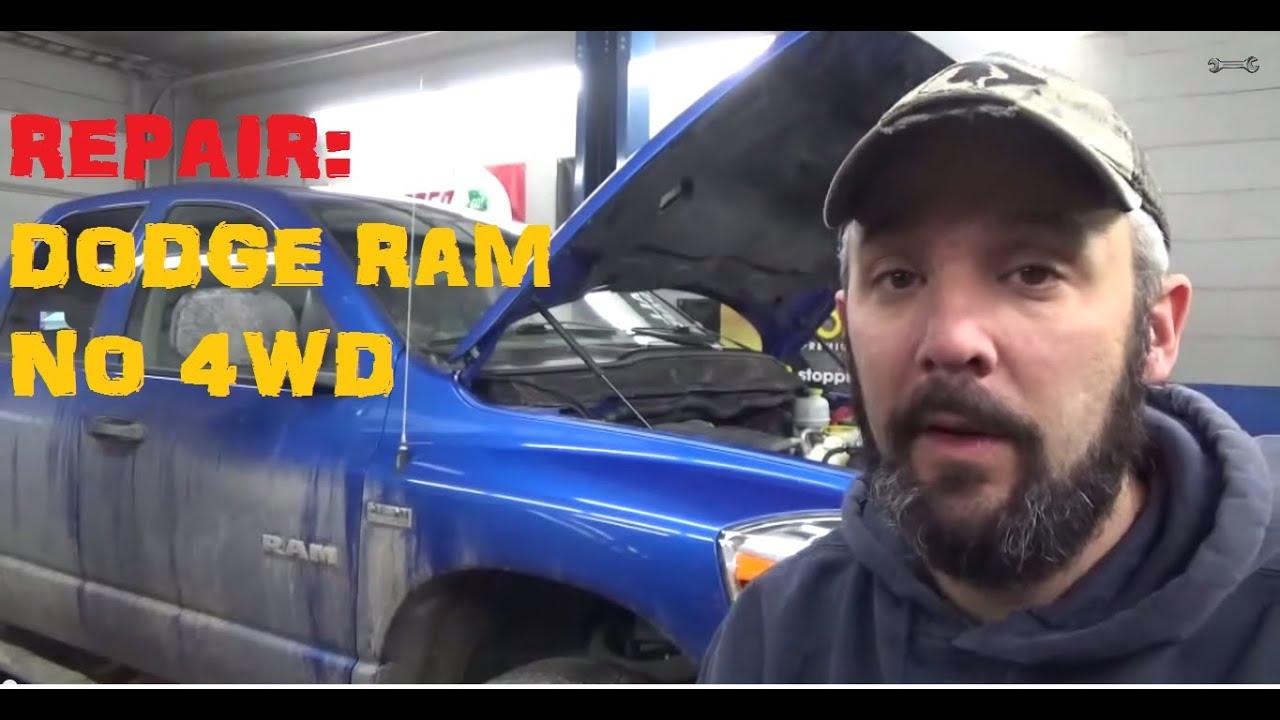 Dodge Ram No 4wd Youtube 2004 1500 Repair Diagram