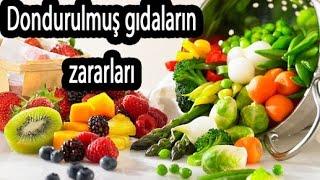 Dondurulmuş Gıdaların Faydaları ve Zararları