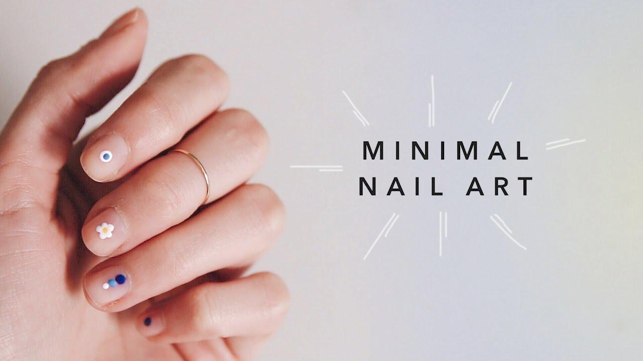 Minimal nail art long lasting lana youtube for Minimal art merkmale
