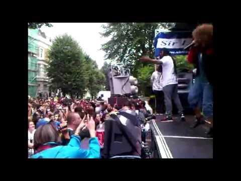 Mz  Bratt @ Notting Hill Carnival 2011