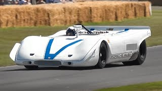 1969 Porsche 917 PA Spyder: Flat-12 powered but sounding like a Flat-6