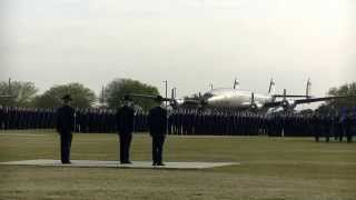 Air Force Basic Military Training BMT Graduation Parade Official