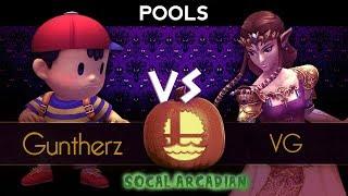 Gambar cover SoCal Arcadian 6 - Pools ft. VG (Zelda) VS HD|Guntherz (Ness)