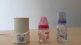 Hướng dẫn sử dụng máy hâm sữa điện NUK