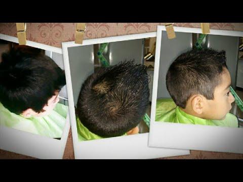 Corte de cabello estilo gallito