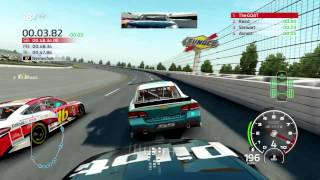 NASCAR 14 Career Mode Race 10 Talladega Gameplay