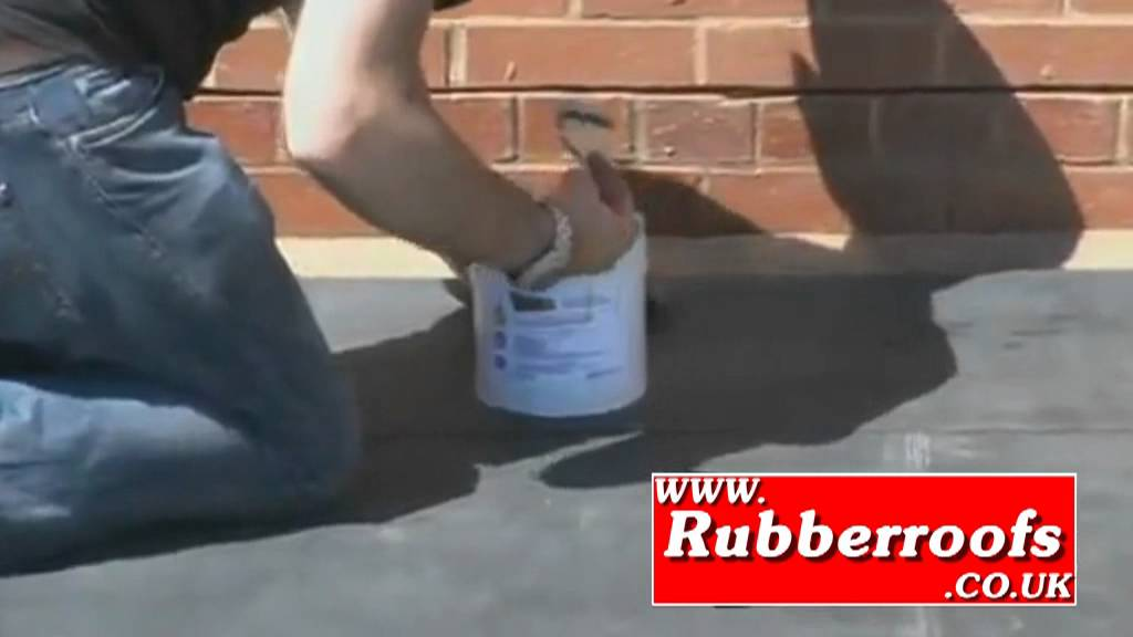Firestone EPDM RUBBER FLAT ROOF INSTALLATION GUIDE - YouTube