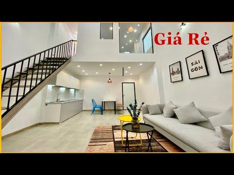 GỢI Ý Mẫu Nhà Gác Lửng 4M x 10M với 2 Phòng Ngủ Đẹp Giá Rẻ   Bán Nhà Gò Vấp 629