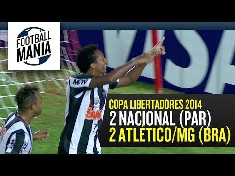 Nacional (PAR) 2-2 Atlético/MG (BRA) - Copa Libertadores 2014 - Group Stage