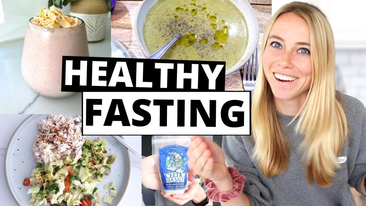 FULL DAY OF MEALS | Healthy Intermittent Fasting With Autumn Bates!