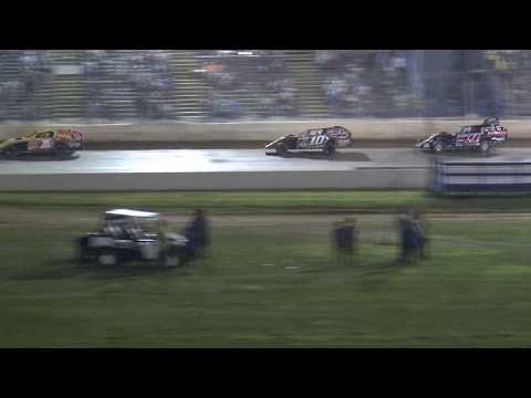 Florence Speedway | 7/15/17 | Slicker Graphics UMP Modifieds | Feature