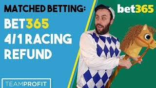 Bet365 4/1 Racing Offer - Matched Betting Guide