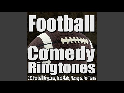 Kansas City Chiefs 3 Football Ringtone, Text Alert, Alarm