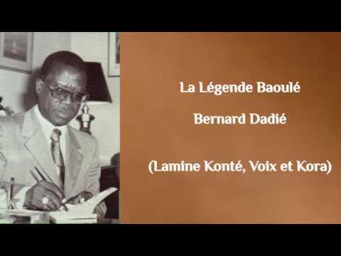 La Légende Baoulé, Bernard Binlin Dadié