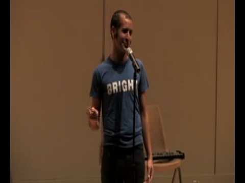 Anis Mojgani performs Shake the Dust at Brown University