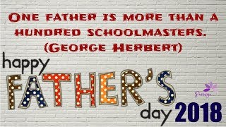 😍😍Father's Day 2018:🖤🖤Messages, Wishes,  Quotes/❤️❤️Father's  Day Messages💗💗