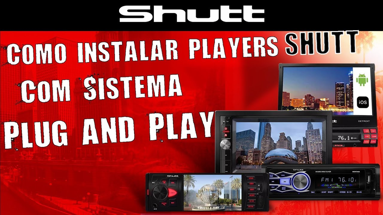 e8913896b Como Instalar DVD Player e Central Multimídia Shutt com Sistema Plug And  Play – Connect Parts