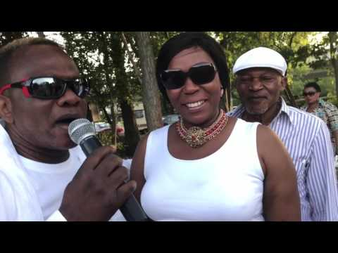 La fille de papa wemba à Genève avec maray maray