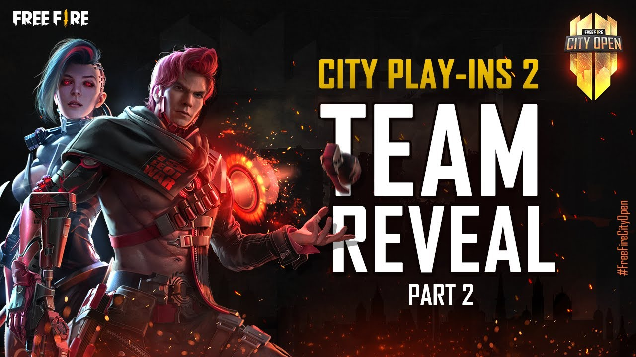 Free Fire City Open City Play-Ins 2 Team Reveal Part-2   FFCO