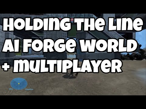Holding The Line Against AI On Forge World (Multiplayer Works)
