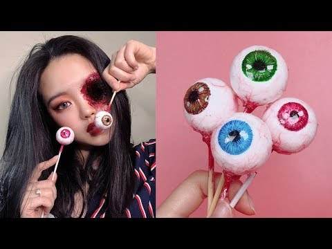 Realistic Eye Ball Lolipop Making Process I Smooth Cast 300 Totorial