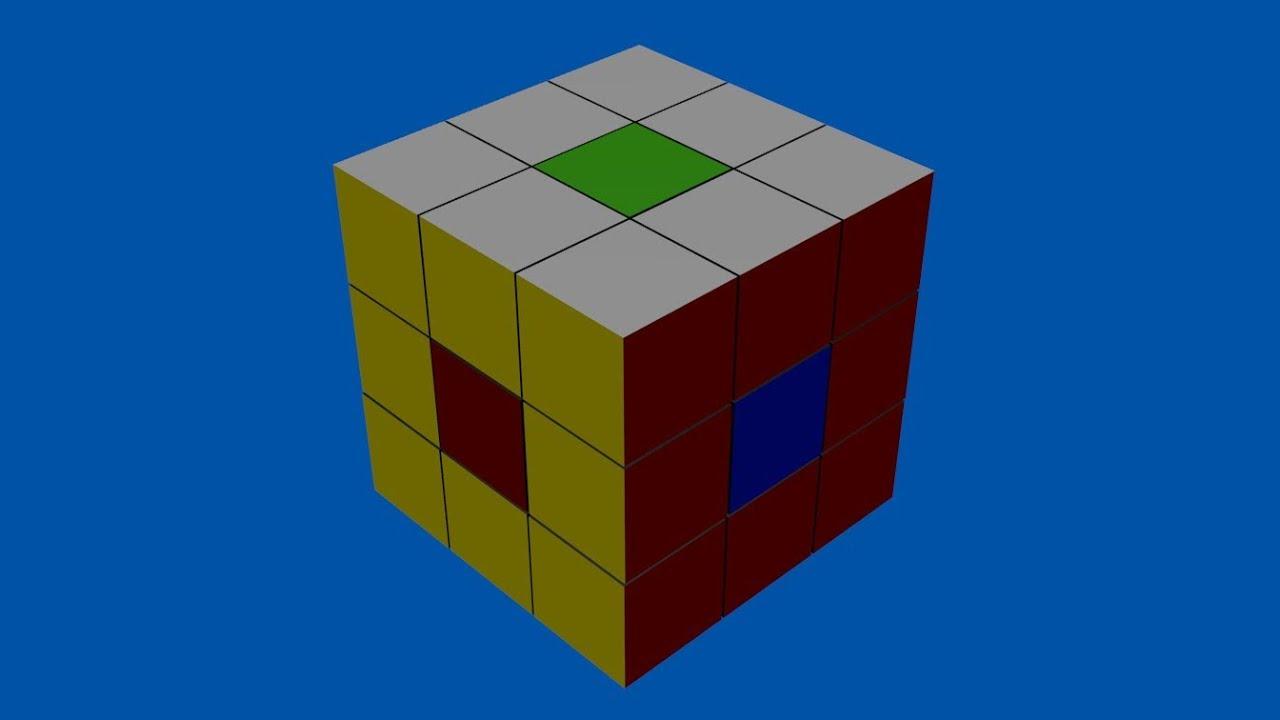 zauberw rfel rubiks cube tricks zum nachmachen mitte verdrehen animiert youtube. Black Bedroom Furniture Sets. Home Design Ideas