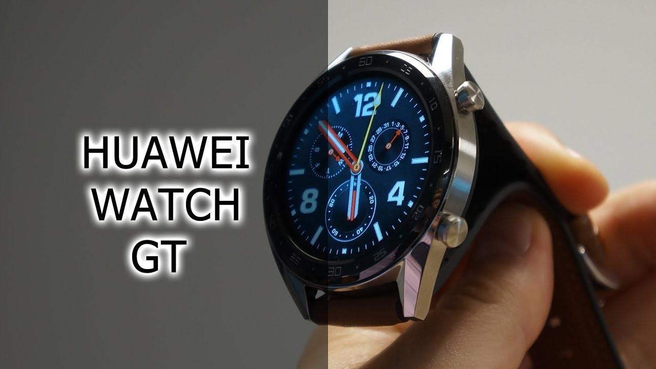 Обзор смарт-часов Huawei Watch GT - YouTube 2d2a95427d7bf