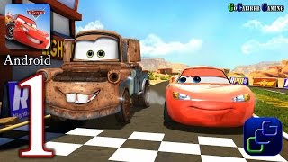 Cars: Fast As Lightning Android Walkthrough - Gameplay Part 1 - Todd's Race Track