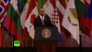 Брюссельская речь Обамы: урок двойных стандартов от США