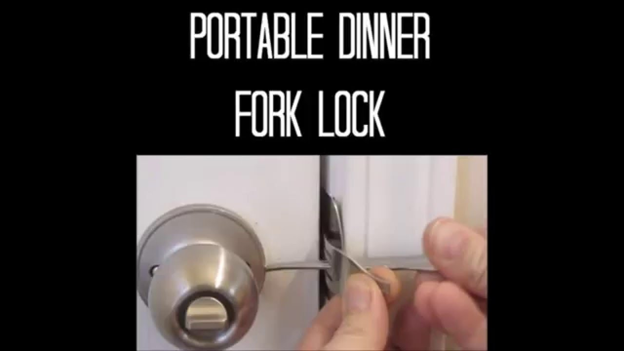 lock your door. How To Lock A Door Without Your D