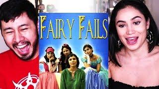 EAST INDIA COMEDY - FAIRY FAILS | Reaction | Jaby & Moriah Garcia!