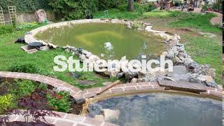 Teichbau, Teich bauen in Österreich, Teichfolie nach Mass