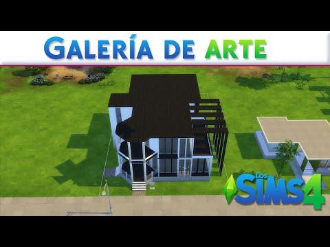 Galería de arte moderno - Los Sims 4: Construcciones