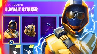 How To Unlock New SUMMIT STRIKER Starter Pack Right Now! (Fortnite Battle Royale)