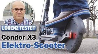 Der Schweizer Elektro-Scooter flitzt ganz legal I Lorenz testet