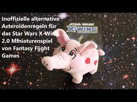 StarWars X Wing 2.0 Miniaturenspiel - Inoffizielle alternative Asteroidenregeln (mit deutschen UT)