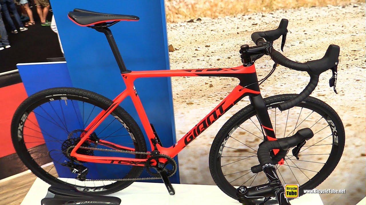 2017 Giant TCX Advanced SX Road Bike - Walkaround - 2016 ...