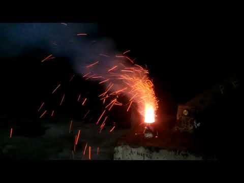 Дымовая шашка на аммиачке и хлориде аммония с углем