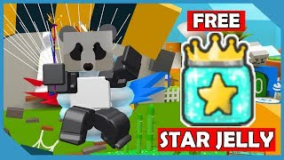 Como obter Free Star Jelly em Roblox Bee Swarm Simulator (New Black Bear Quest)